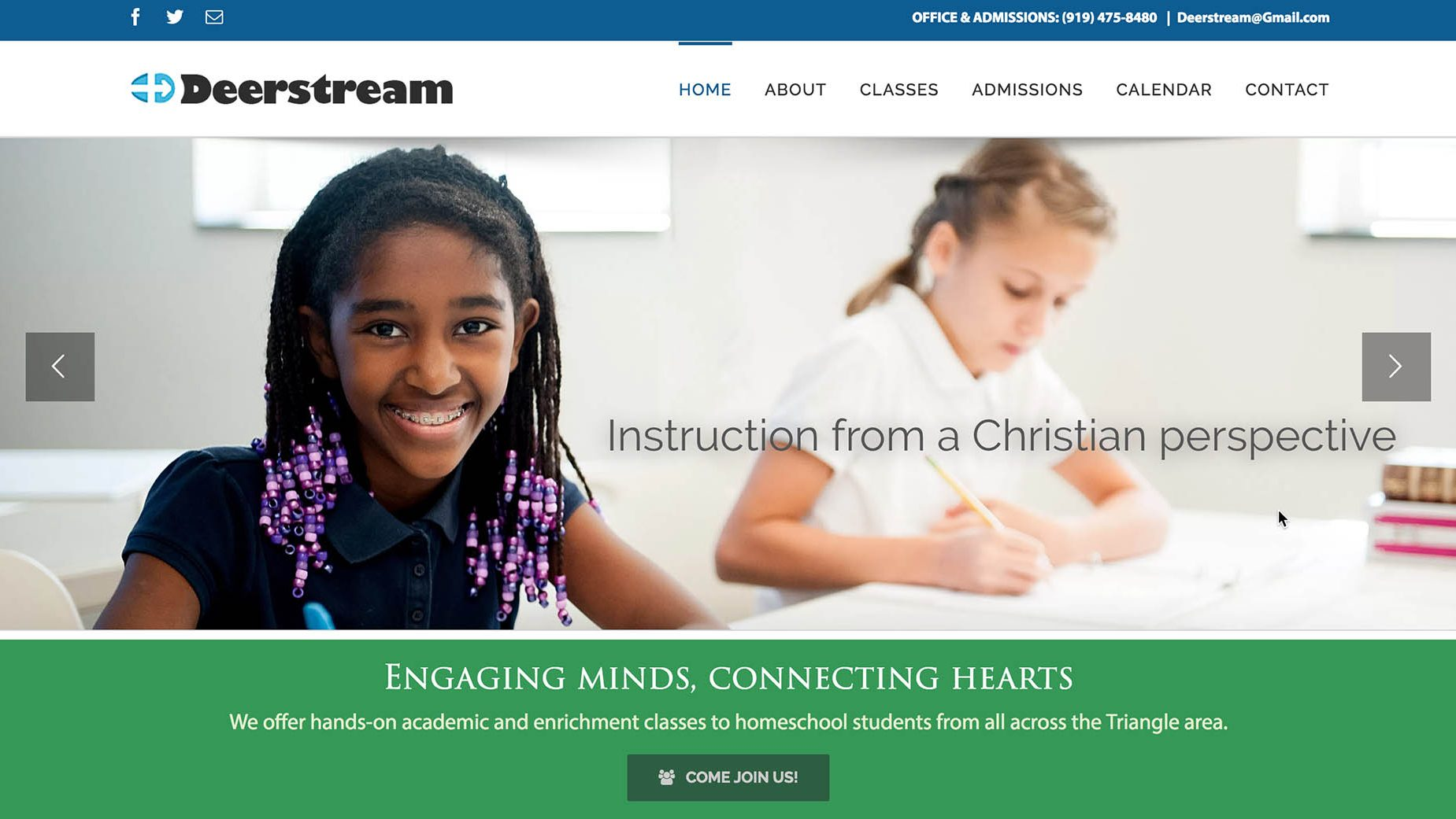 Deerstream Website
