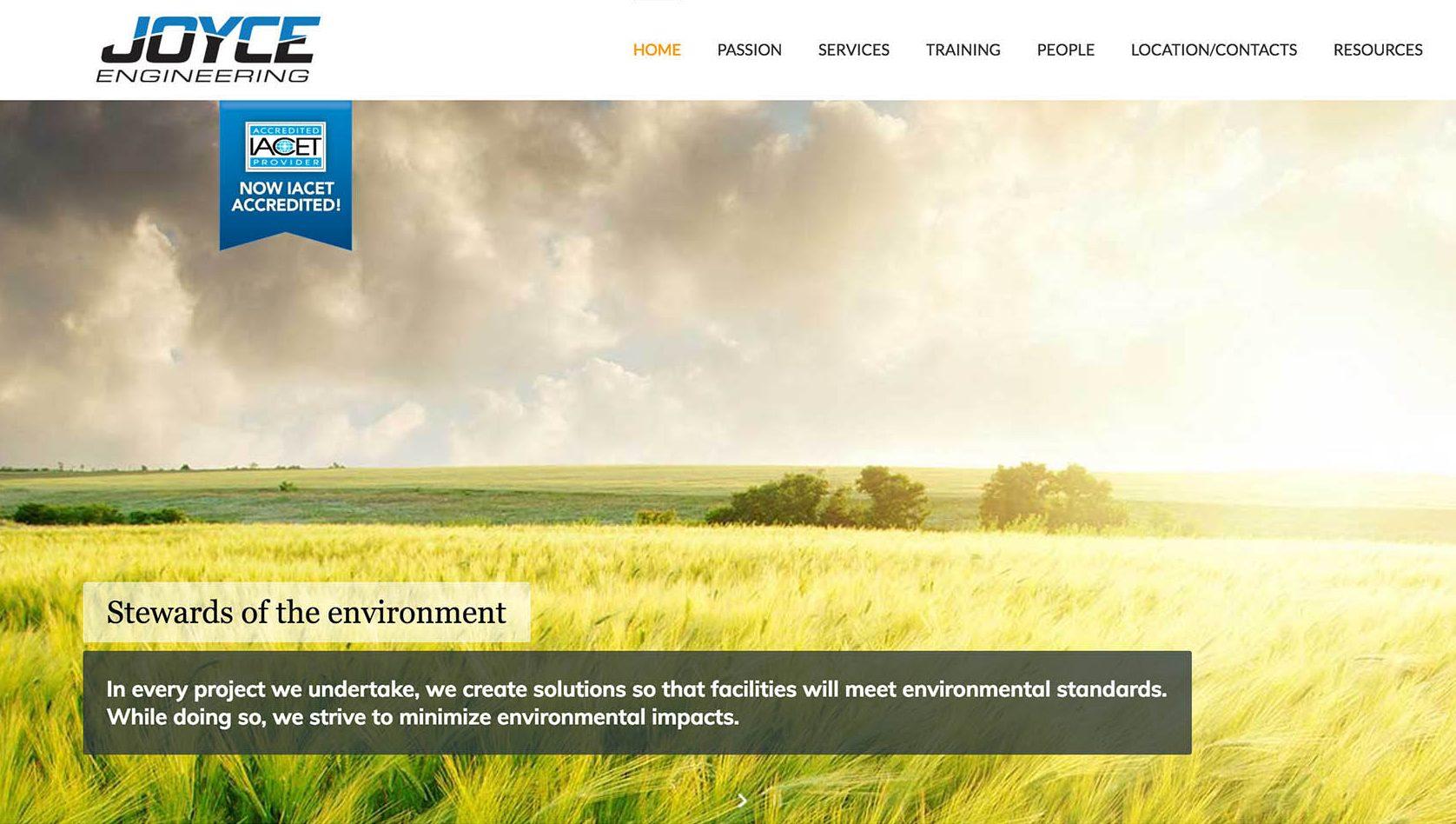 Joyce Engineering Website