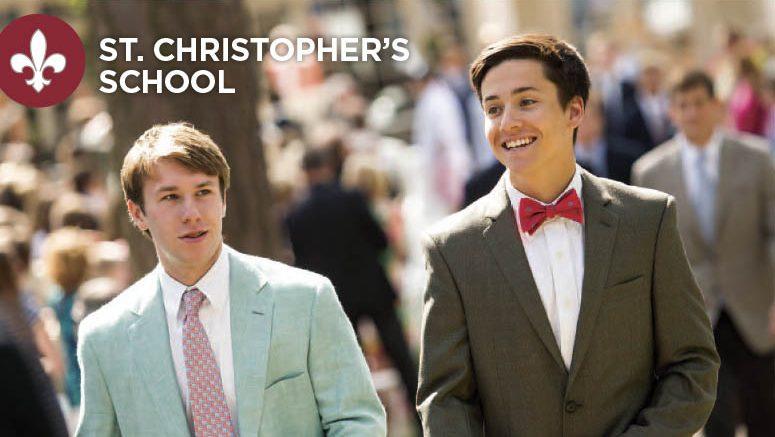 St. Christopher's School Grad Magazine