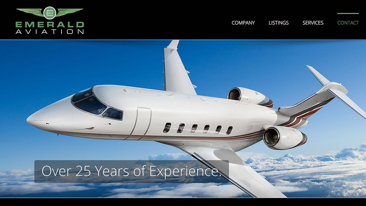 Emerald Aviation Website