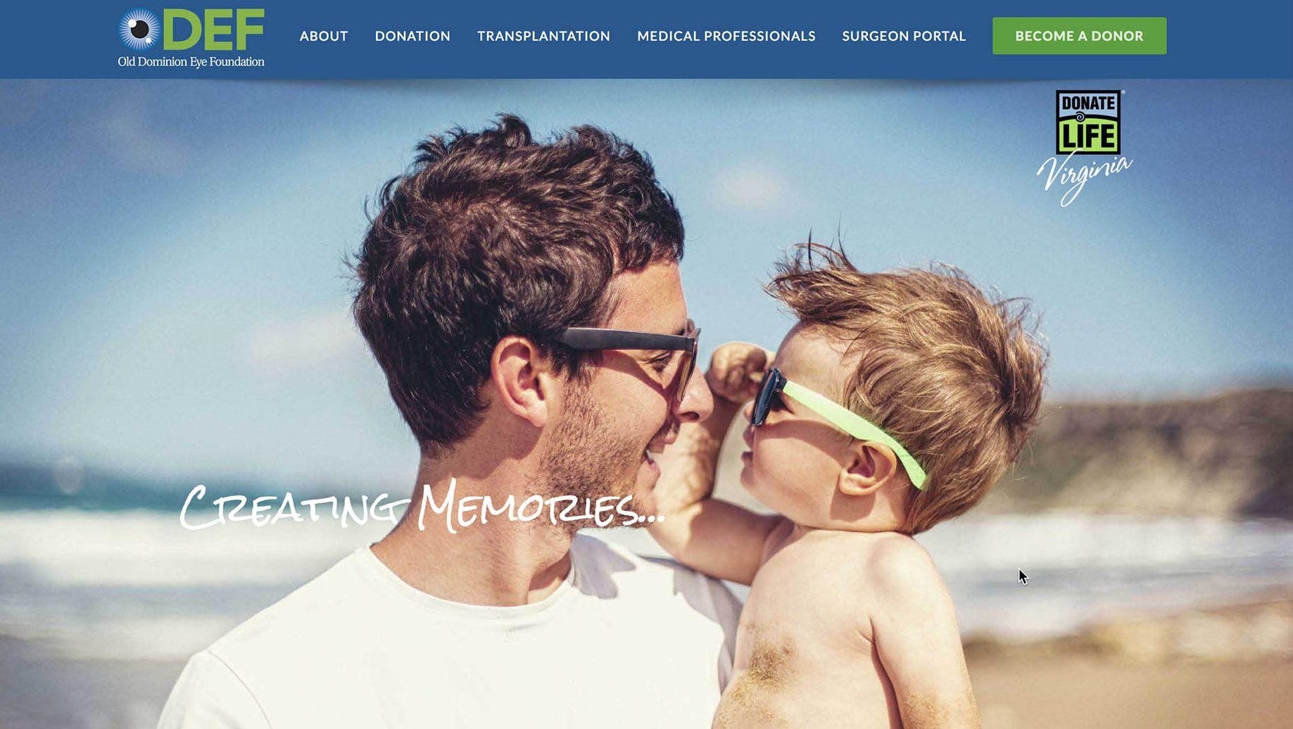 Old Dominion Eye Foundation Website