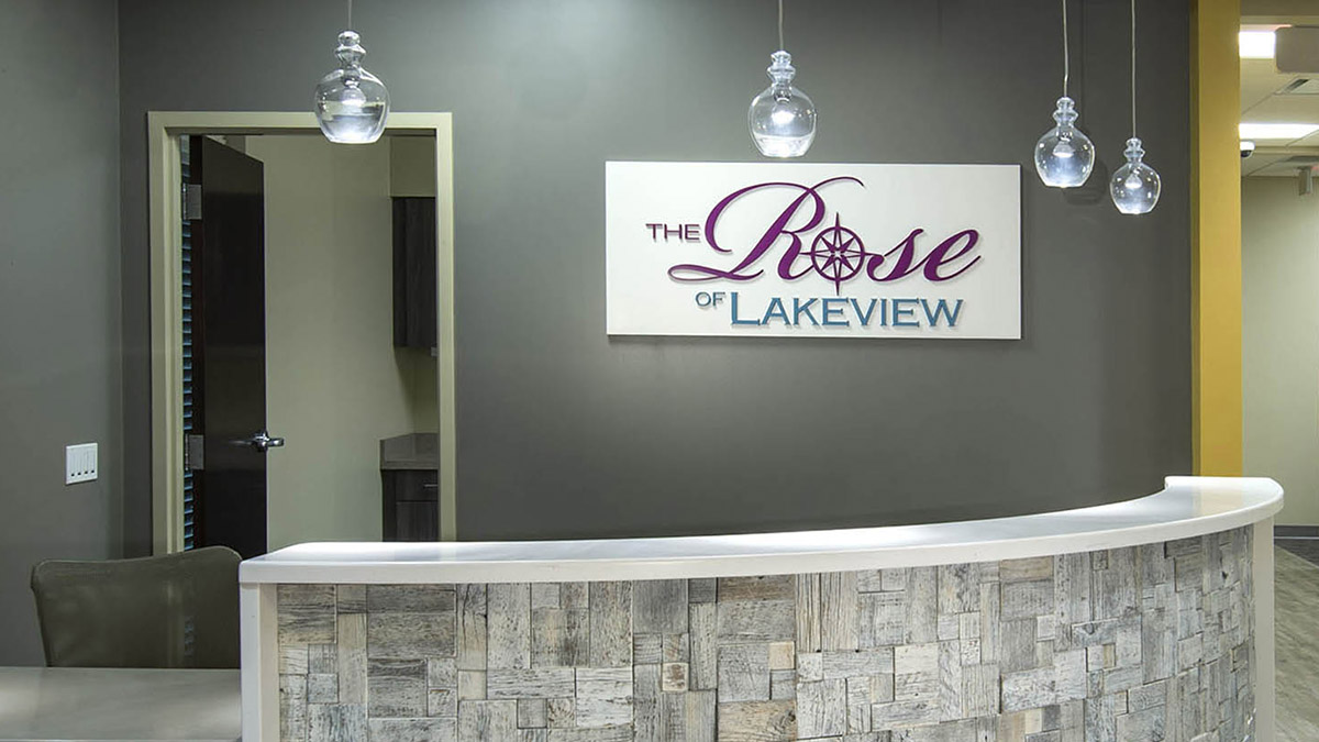 Lakeview Health Interior Signage
