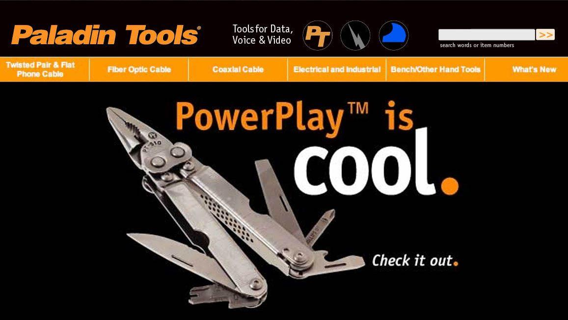 Paladin Tools Website
